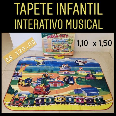 Tapete infantil musical Oregon