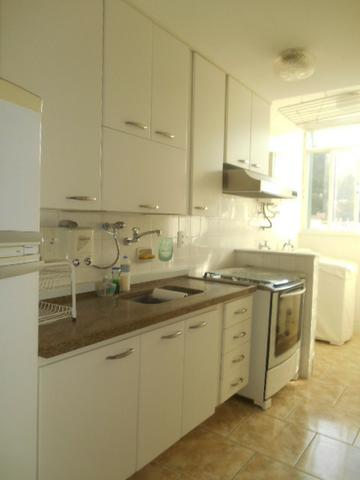 Rua Souza Franco, apto 02 dormitórios , dependência , varanda e vaga escriturada - Foto 15
