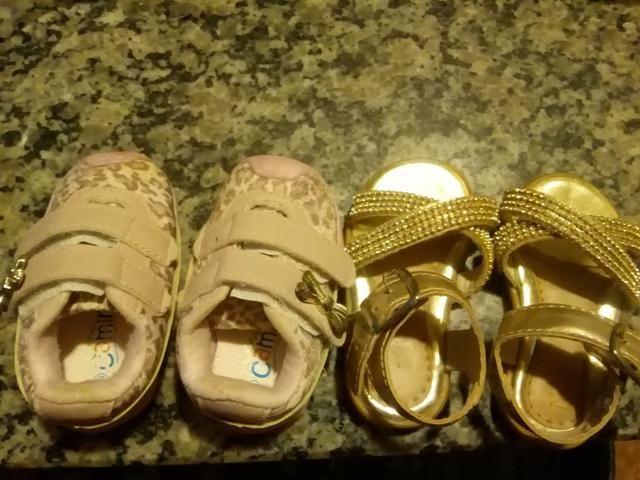 Tênis e Saldália para bebê /Feminino 70$ - Foto 6