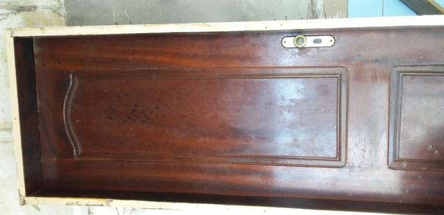 Janela de madeira , porta de 60 e pedra de granito - Foto 4