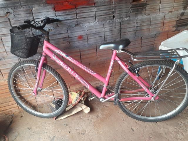 Vendo bicicleta alegra cite valor normal 500 na loja - Foto 3