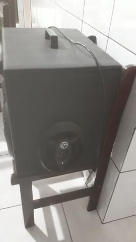 Caixa de som toca na luz 400 reais - Foto 2