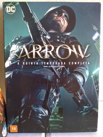 Box DVD ORIGINAL Arrow 1ª a 5ª Temporada - Foto 5