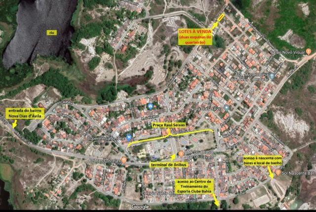Oportunidade: Lote residencial em Nova Dias d'Ávila, escriturado e em esquina total - Foto 2