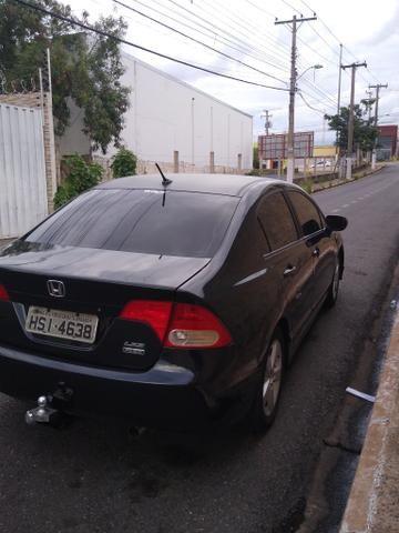 Civic G8 muito top , carro 1.8 pintuta nova todo em dias - Foto 3