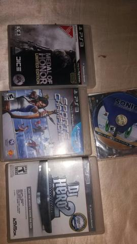 4 jogos ps3 - Foto 2
