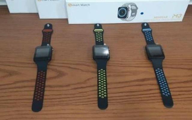Relógio Inteligente Smart sensor na tela Android Miwear M3 - Foto 2