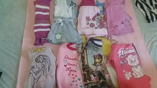 Lote de roupas de Menina