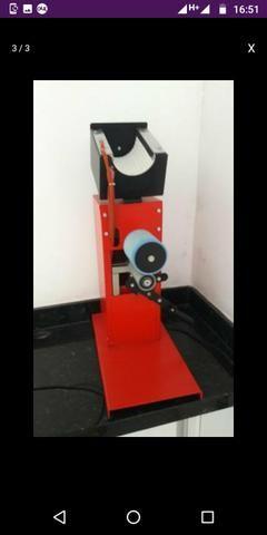 Máquina de estampar copos 360°