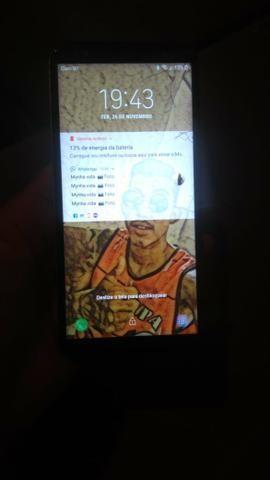 J4 core250$ pra vender ainda hoje ta com a tela trincada mais nao interferir em nada - Foto 2