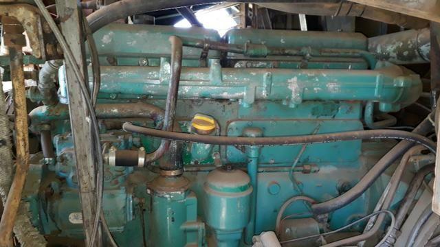 Motor Scania 112 (Diesel) em bom estado funcionando 100% ano 83 - Foto 3