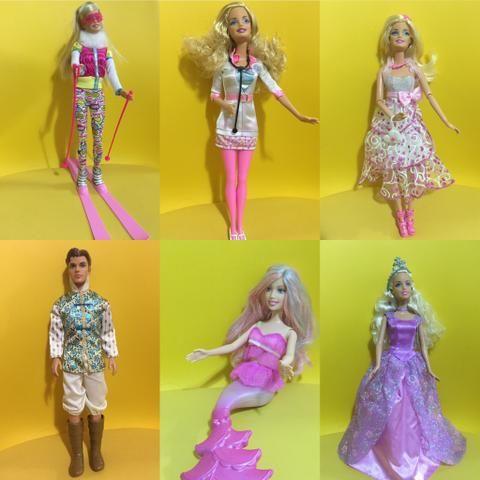 Barbies originais de colecionador