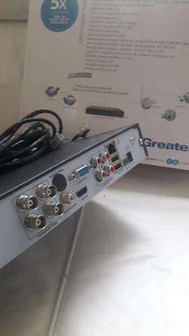 Gravador de vídeo digital híbrido - Foto 2