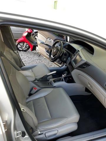 Honda Civic 2.0 LXR com kit multimídia original Honda 2013 - 2014 - Foto 7
