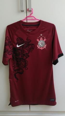 Camisa Corinthians Nike 2011 São Jorge vinho - Roupas e calçados ... fb1968be55719