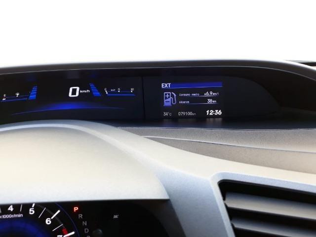Honda Civic 2.0 LXR com kit multimídia original Honda 2013 - 2014 - Foto 4
