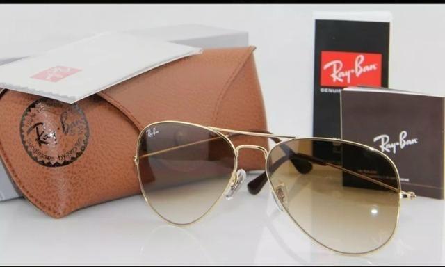 61f155f2f Óculos Rayban Aviador Original PROMOÇÃO - Bijouterias, relógios e ...