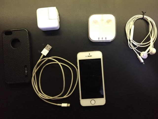 39f30ba4376 Celular Apple iPhone 5s 16gb - Fone E Carregador Original ...