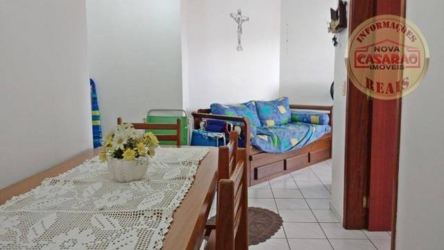 Apartamento com 1 dormitório à venda, 61 m² por R$ 225.000 - Boqueirão - Praia Grande/SP - Foto 2