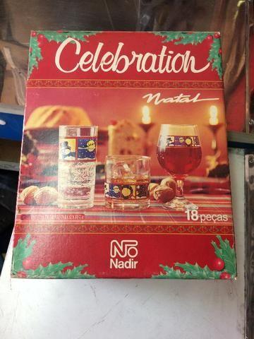 Jogo de copos de Natal Nadir