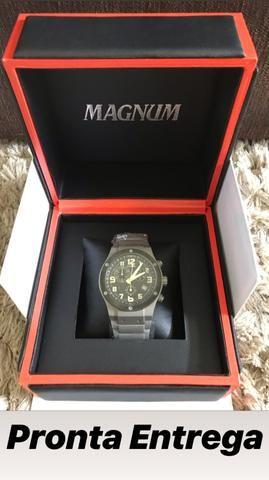 Relógios Magnum Originais - 2 anos de garantia
