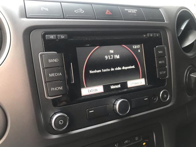 VW Amarok Highline 2.0 TDI 2016 - Automático - Muito Novo !!! - Foto 8