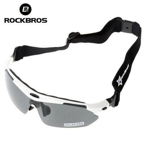 Kit Óculos 5 Lentes UV, 1 lente Polarizada Rockbros - Foto 4