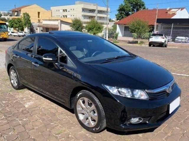 Honda Civic 2012 com teto Solar com parcelas de 427,00