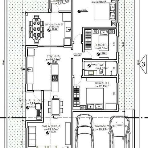 Casa no Condomínio Central Park II com 3 quartos, lote com 300m², sombra - Foto 3