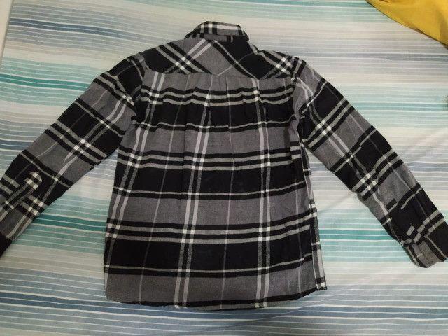 Camisa de flanela Thony nova - Foto 4