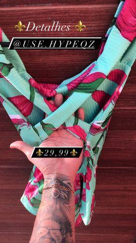 ?Body floral ?tecido canelado disponível ainda ? - Foto 2