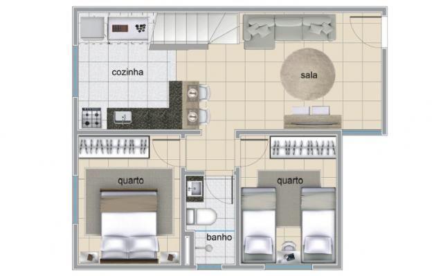 Apartamento à venda com 2 dormitórios em Serrano, Belo horizonte cod:IBH1784 - Foto 10