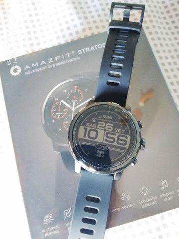 Relógio Smartwatch Amazfit Stratos 2 novo lacrado