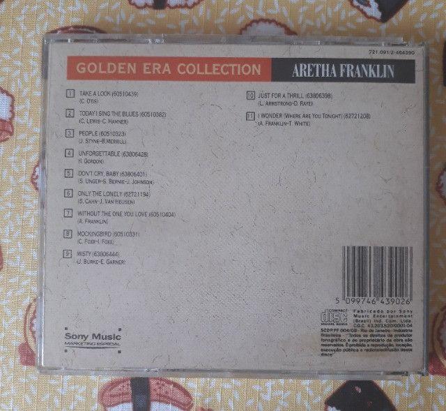 CD Aretha Franklin - Golden Era Collection - Foto 2