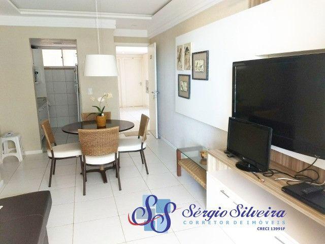 Apartamento no Palm Beach no Porto das Dunas com 2 quartos - Foto 4