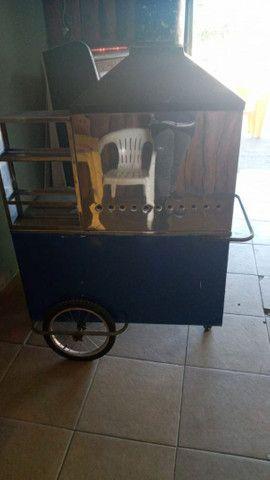 Carroçinha de churrasquinho  - Foto 2