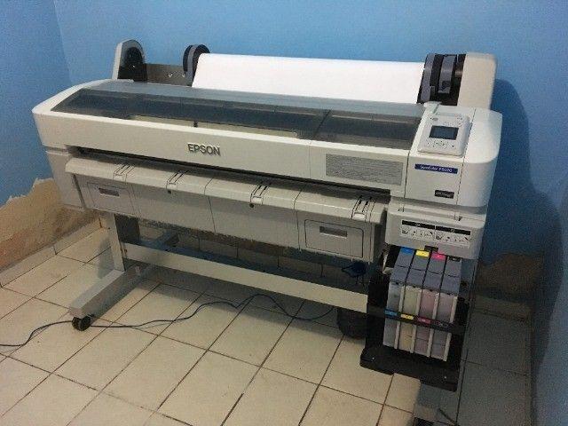 Impressora para sublimação Plotter Epson Surecolor Série F6070 Sublimática Seminova
