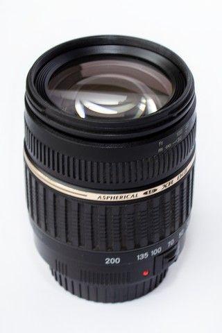 Lente Tamron 18-200mm Xr Di Ii Para Canon Super Novinha - Foto 2