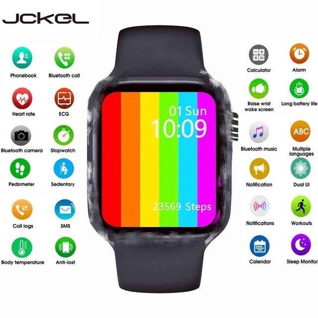 Relógio inteligente Smartwatch W26 44mm - Foto 2