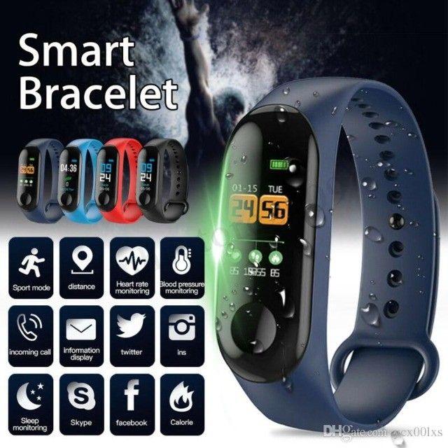 Smartband Relógio Pulseira Função App Celular M3 - Foto 6
