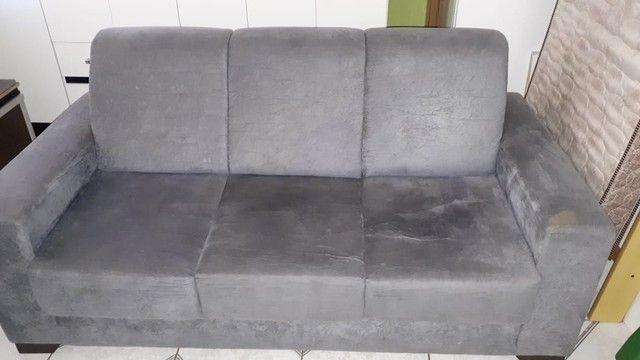 Sofá usado porém novo bem conservado  - Foto 2