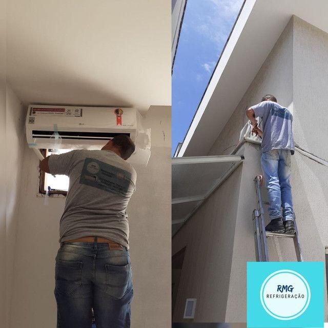 Instalação e Manutenção de ar condicionado Split e  ar condicionado de janela.  - Foto 3