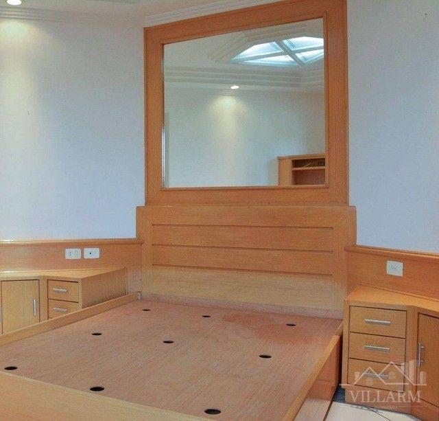 Apartamento com 4 dormitórios para alugar, 196 m² por R$ 5.700,00/mês - Vila Santo Estéfan - Foto 10