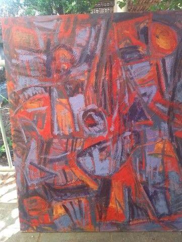 Quadro de Arte - 100 cm x 120 cm
