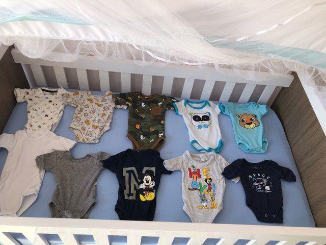 Lote de bebê menino+ protetores e almofada de berço  - Foto 6