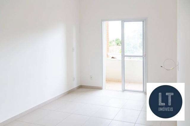 Apartamento com 2 dormitórios à venda, 64 m² por R$ 195.000,00 - Parque São Luís - Taubaté