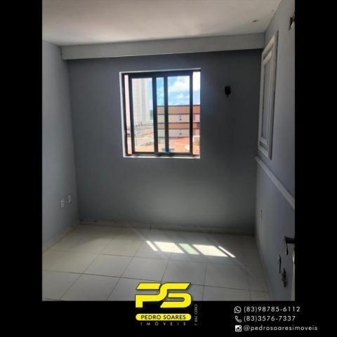 Apartamento com 2 dormitórios para alugar, 60 m² por R$ 1.700/mês - Altiplano Cabo Branco  - Foto 13