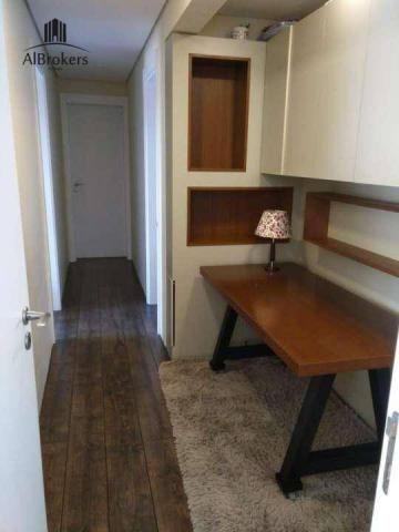 Apartamento com 3 suítes à venda, 162 m² por R$ 1.490.000 - Central Parque - Porto Alegre/ - Foto 15