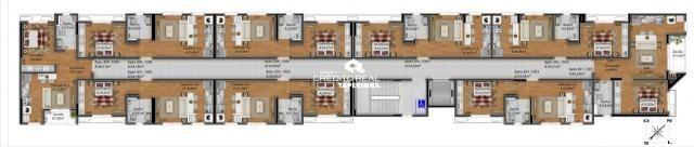 Apartamento à venda com 1 dormitórios em Nonoai, Santa maria cod:8453 - Foto 8