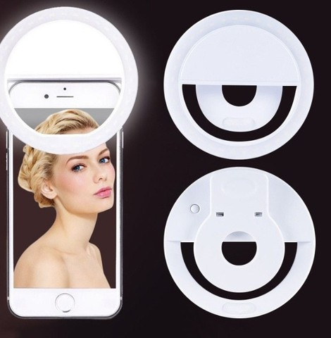Anel De Led Luz Para Selfie Ring Light Flash Celular